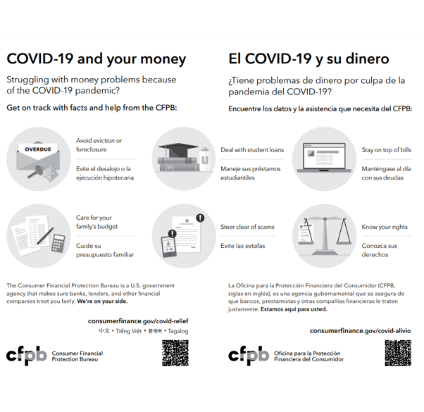 Cover page for COVID-19 and Your Money (B/W) - Download Only